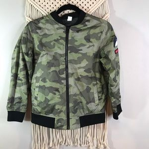 Old navy camo jacket